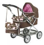 Maclaren Travelmate Pram - brown-pink