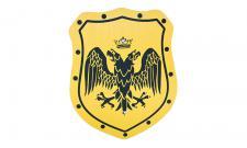 Schild Elegant, Motiv Doppelkopfadler,