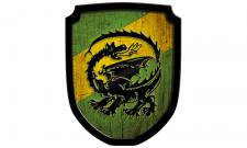 Wappenschild Drache,