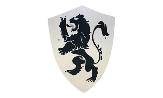 Schild groß, Motiv Löwe,