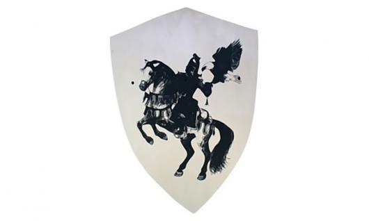 Schild groß, Motiv Ritter,