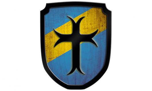 Wappenschild Kreuz,