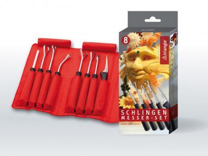triangle® aus Solingen Schlingenmesser Set Food