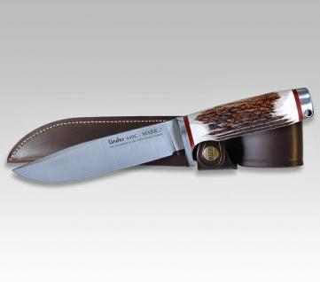 Jagdmesser Mark 1 & 2 Hirschhorn von Linder