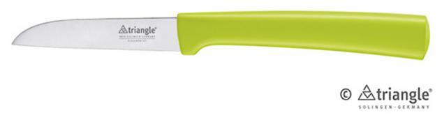 triangle® aus Solingen Gemüsemesser 8cm Green Grip 100 % ECO Material