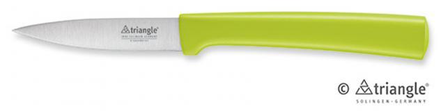 triangle® aus Solingen Gemüsemesser mittelspitz 8cm Grip 100 % ECO Material