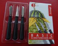 triangle® aus Solingen Schnitzmesser Set Basic, 3-tlg.