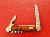 Taschenmesser, 3-tlg., Schlangenholz Neusilberbacken