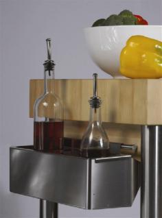 JOKO Küchenwagen ohne Schublade Platte Hirnholz - Vorschau 2