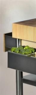 JOKO Küchenwagen mit Ablagen Platte Weissbuche - Vorschau 2