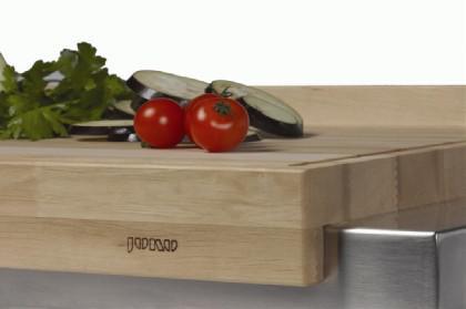 JOKO Küchenwagen 2 Schubladen Platte Weissbuche - Vorschau 3