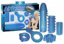 Sex-Toy-Set » UFO« - Blau - 6-teilig