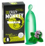 Kondome » The Crazy Monkey - Fresh-Mint!« - Inhalt: 12 Stück