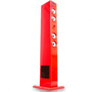 sound musikturm soundtower dockingstation ipod iphone usb rot bigben glossy red kaufen bei www. Black Bedroom Furniture Sets. Home Design Ideas