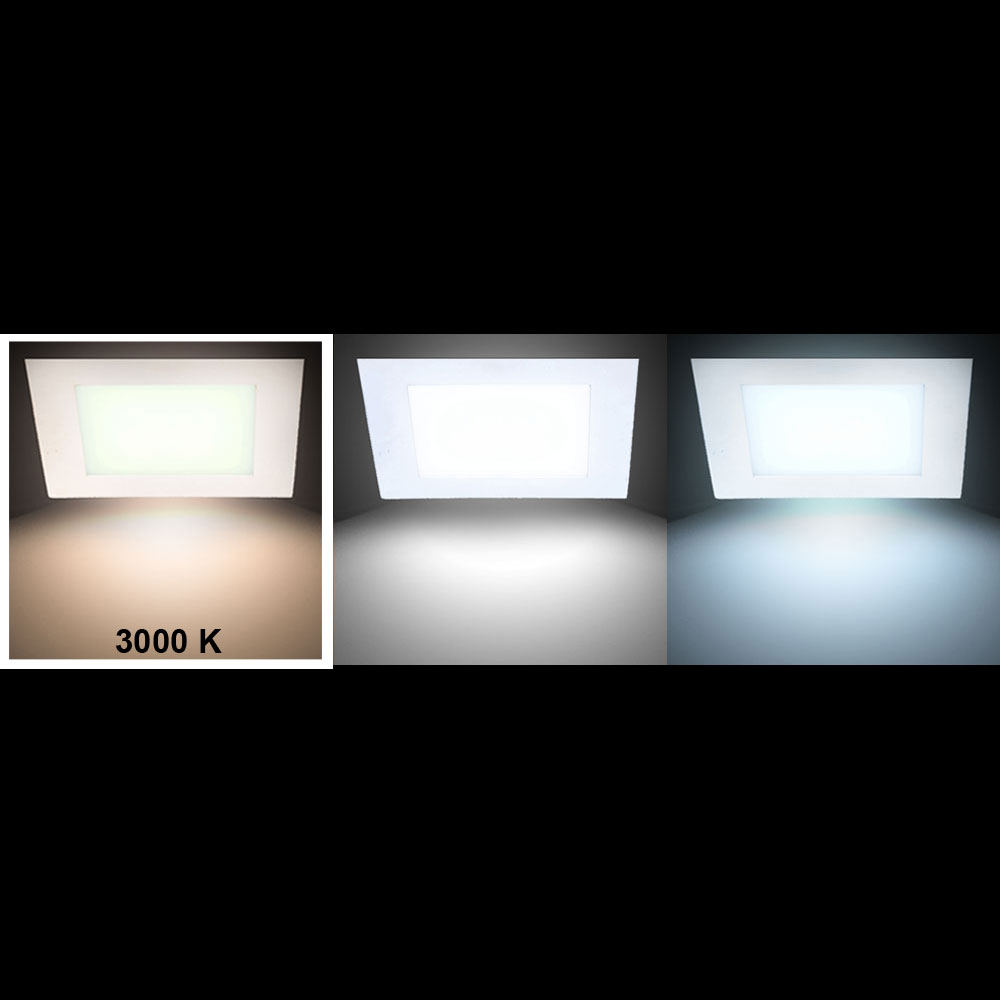 2er set luxus led decken einbau leuchten g stezimmer panel strahler flach alu lampen kaufen. Black Bedroom Furniture Sets. Home Design Ideas