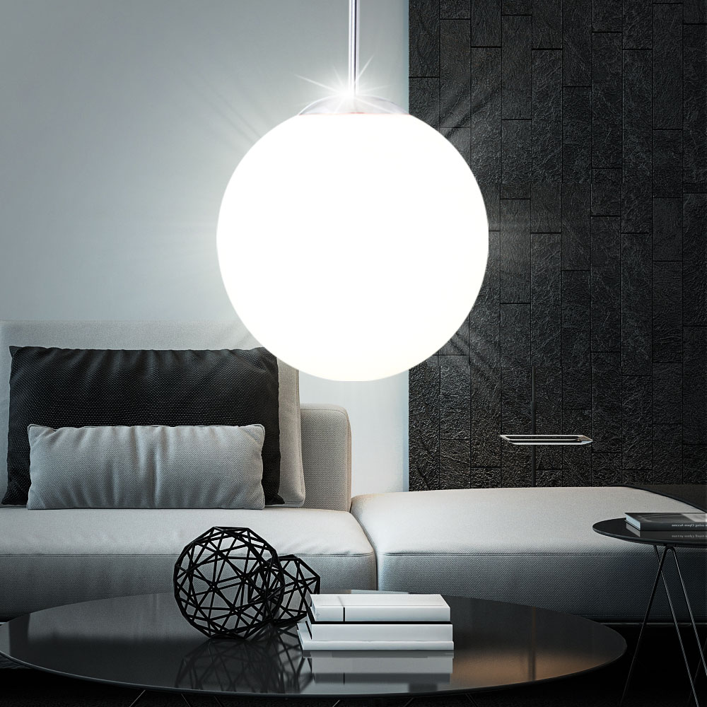 Cool Affordable Best Watt Led Hngelampe Wohnzimmer Opal Kugel With Lange  Hngelampe With Hngelampe With Groe Hngelampe With Hngelampe With Led Lampe  Kche