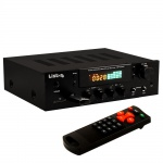 Stereo Receiver FM Radio Tuner Verstärker Bluetooth USB SD MP3 Fernbedienung AMP5000BT