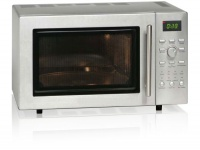 Mikrowelle Mikro Microwave Küchengrill Ofen Heißluft 900W Exquisit ED 8525 3S