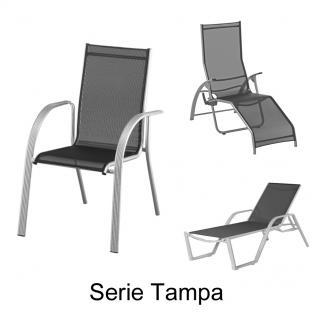Auflagen zur Serie Tampa von Kettler für verschiedene Modelle aus der Serie im Dessin 3032 100% Polyacryl, Lichtbeständigkeit 7-8 von 8 - Vorschau 2