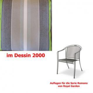 Auflagen für Serie Romano von Royal Garden, verschiedenen Größen in der Auswahl wählbar Dessin 2000 100% Polyacryl Lichtbeständigkeit 7-8 von 8 - Vorschau 2