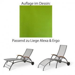 Auflage für Liege Alexa oder Ergo von Royal Garden im Dessin 2002 100% Polyacryl, Lichtbeständigkeit 7-8 von 8