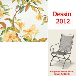 Auflage zu Sessel Ambiente Dessin 2012 100% Polyester Lichtbeständigkeit 6-7 von 8 - Vorschau 1
