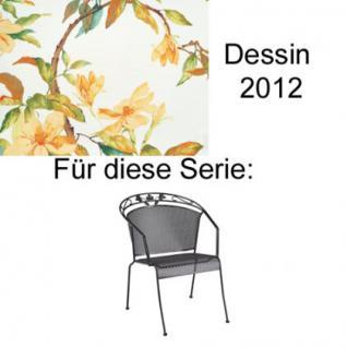 Auflagen für Serie Toledo von Kettler in der Auswahl unterschiedliche Größen zu wählen im Dessin 2012 100% Polyester Lichtbeständigkeit 6-7 von 8