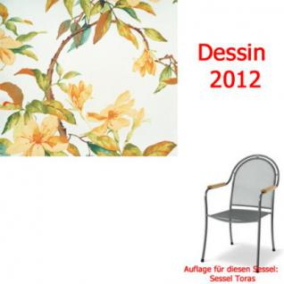 Auflage zu Sessel Toras Des. 2012 100% Polyester Lichtbeständigkeit 6-7 von 8