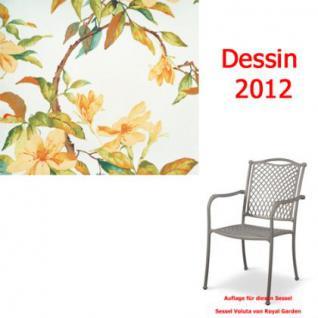 Auflage zu Sessel Voluta Dessin 2012 100% Polyester Lichtbeständigkeit 6-7 von 8 - Vorschau 1