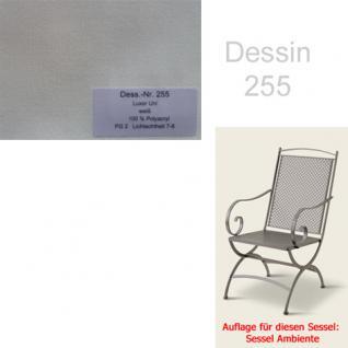 Auflage zu Sessel Ambiente Dessin 255 100% Polyacryl Lichtbeständigkeit 7-8 von 8