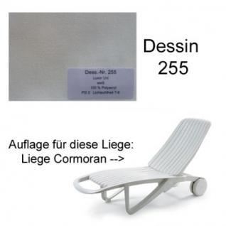 Auflage für Liege Cormoran von Allibert Evolutiv im Des. 255 100% Polyacryl, Lichtbeständigkeit 7-8 von 8