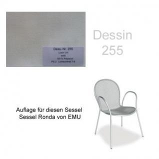 Auflage für Sessel Ronda von Emu im Dessin 255 100% Polyacryl Lichtbeständigkeit 7-8 von 8