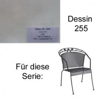 Auflagen für Serie Toledo von Kettler in der Auswahl unterschiedliche Größen zu wählen im Dessin 255 100% Polyacryl, Lichtbeständigkeit 7-8 von 8