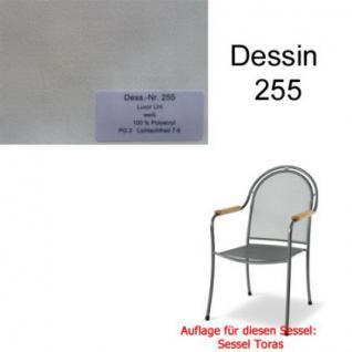 Auflage zu Sessel Toras Des. 255 100% Polyacryl Lichtbeständigkeit 7-8 von 8