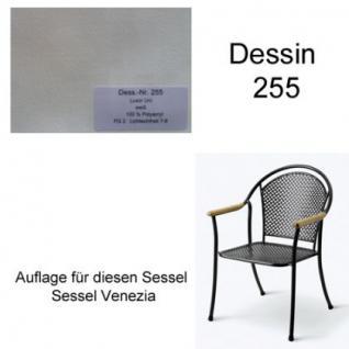 Auflage für Sessel Venezia Des. 255 100% Polyacryl, Lichtbeständigkeit 7-8 von 8