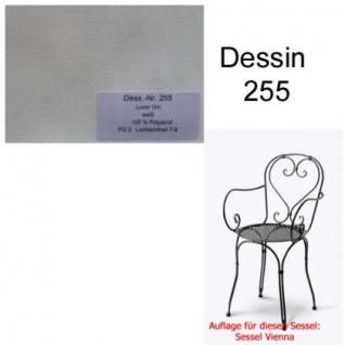 Auflage für Serie Vienna im Dessin 255 100% Polyacryl Lichtbeständigkeit 7-8 von 8