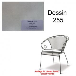 Auflage für Voletta im Dessin 255 100% Polyacryl Lichtbeständigkeit 7-8 von 8