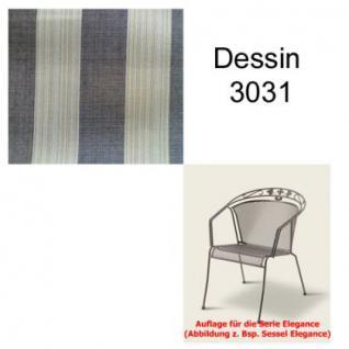 Auflage für Serie Elegance im Dessin 3031 verschiedene Größen in der Auswahl wählbar, 100% Polyacryl, Lichtbeständigkeit 7-8 von 8