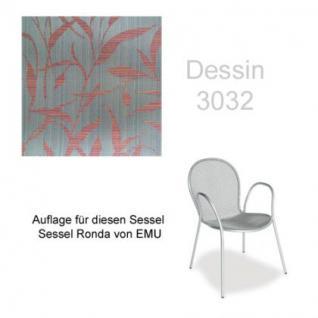 Auflage für Sessel Ronda von Emu im Dessin 3032 100% Polyacryl, Lichtbeständigkeit 7-8 von 8