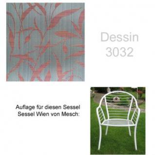 Auflage für Sessel Wien von Mesch im Dessin 3032 100% Polyacryl, Lichtbeständigkeit 7-8 von 8 - Vorschau