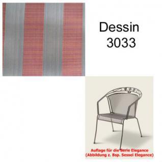 Auflage für Serie Elegance im Dessin 3033 verschiedene Größen in der Auswahl wählbar, 100% Polyacryl, Lichtbeständigkeit 7-8 von 8
