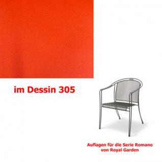Auflagen für Serie Romano von Royal Garden, verschiedenen Größen in der Auswahl wählbar Dessin 305 100% Polyacryl, Lichtbeständigkeit 7-8 von 8