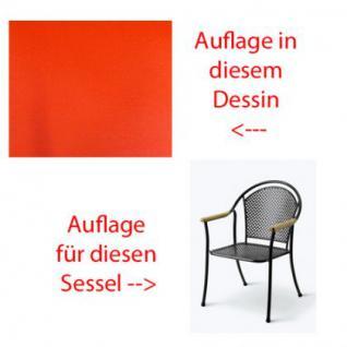 Auflage für Sessel Venezia Des.305 100% Polyacryl, Lichtbeständigkeit 7-8 von 8 - Vorschau 1