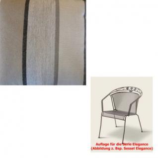 Auflage für Serie Elegance im Dessin 310 verschiedene Größen in der Auswahl wählbar, 100% Polyacryl, Lichtbeständigkeit 7-8 von 8 - Vorschau 1