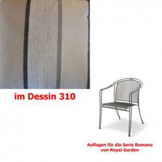 Auflagen für Serie Romano von Royal Garden, verschiedenen Größen in der Auswahl wählbar Dessin 310 100% Polyacryl, Lichtbeständigkeit 7-8 von 8