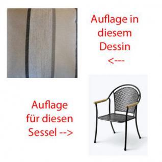 Auflage für Sessel Venezia Des.310 100% Polyacryl, Lichtbeständigkeit 7-8 von 8 - Vorschau 1