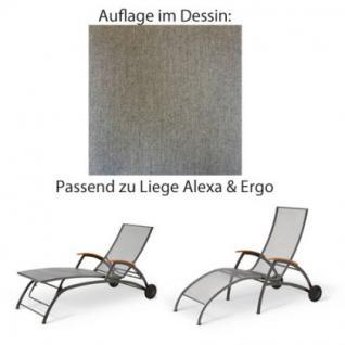 Auflage für Liege Alexa oder Ergo von Royal Garden im Dessin 311 100% Polyacryl, Lichtbeständigkeit 7-8 von 8