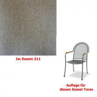 Auflage zu Sessel Toras Des.311 100% Polyacryl, Lichtbeständigkeit 7-8 von 8 - Vorschau