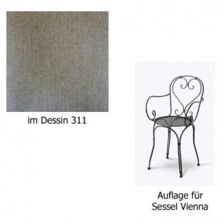 Auflage für Sessel Vienna im Dessin 311 100% Polyacryl, Lichtbeständigkeit 7-8 von 8 - Vorschau