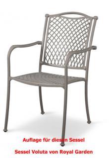 Auflage zu Sessel Voluta Dessin 311 100% Polyacryl, Lichtbeständigkeit 7-8 von 8 - Vorschau 2